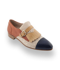 Pertini Schuhe hier ein Slipper mit Schnalle in drei Farben